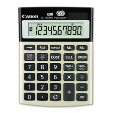 "10-Digit Calculator, Dual PoWhiter, 4-1/8""x5-1/2""x1-1/3"", Black"