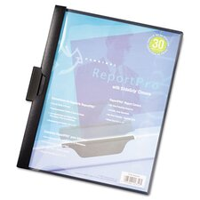 Reportpro Slidegrip Report Cover, Letter, 30-Sheet Capacity