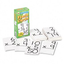 Multiplication Facts 0-12 Flash Cards, 94/Pack