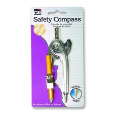 Ball Bearing Compass,w/ Pencil/Centimeter Guide,UPC,Aluminum
