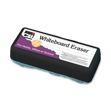 "Whiteboard Eraser, Felt, 5""x2""x1"", White"
