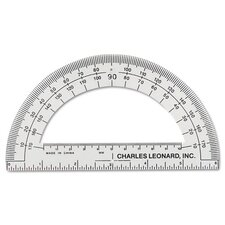 "Protractor with 6"" Ruler"