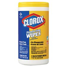 Clorox - Clorox Disinfectant Wipes Clorox Disinfecting Wipes Lemon Frs 35 Count: 158-01594 - clorox disinfecting wipes lemon frs 35 count