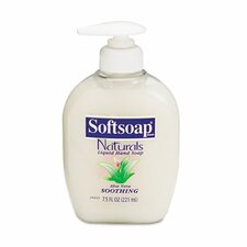 Softsoap Moisturizing Hand Soap with Aloe, Liquid, 7.5 Oz Pump, 12/Carton