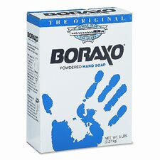 Boraxo Powdered Original Hand Soap, Unscented Powder, 5lb Box