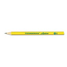 Ticonderoga Laddie Woodcase Pencil without Eraser, 12/Pack