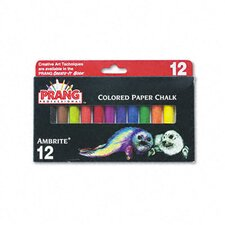 Prang Ambrite Paper Chalk (Set of 12)