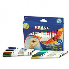 Prang Washable Markers, Fine Point (36 Pack)