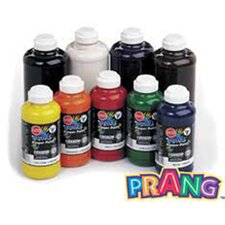 Prang Washable Finger Paint 16 Oz - Red