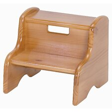 Kid's Step Stool in Honey Oak