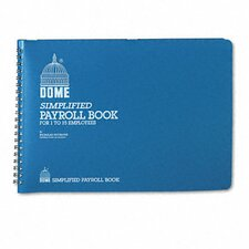 Dome Simplified Payroll Record, 128 Pages