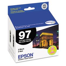 T097120D2 (97) Extra High-Yield Ink, 2/Pack
