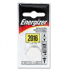 Watch/Electronic/Specialty Battery, 2016, 3 Volt