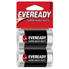 D Cell Heavy-Duty Battery (2 Pack)