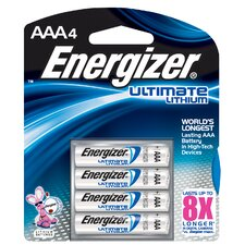 E2 AAA Lithium Battery (4 Pack)