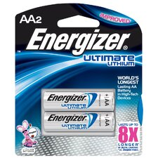 AA e² Lithium Photo Battery (2 Pack)