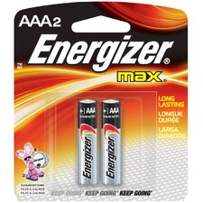 AAA Advanced Formula Alkaline Battery (2 Pack)