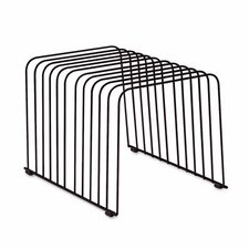 Desktop Organizer, 11 Sections, Wire, 9 X 11 3/8 X 8