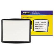 Partition Additions Dry Erase Board