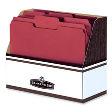 "Folder Holder,w/ Handle Hole, Letter Size, 12""x5-1/2""x9-5/8"""