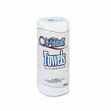 Windsoft Perforated Paper Towel Rolls, 100/Roll, 30/Carton