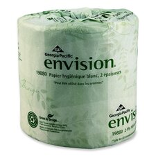 Envision Bathroom Tissue, 550 Sheets/Roll, 80 Rolls/Carton