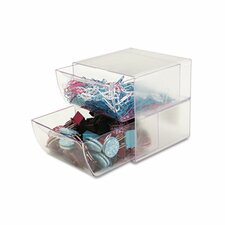 Two Drawer Cube Organizer