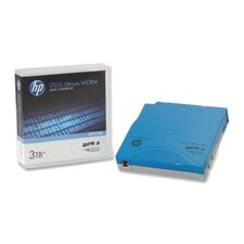 HP LTO-5 Ultrium 3TB RW Worm, Data Cartridge, Blue