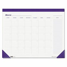 Nondated Desk Pad Calendar