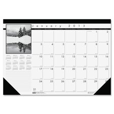 Monthly Desk Pad Calendar