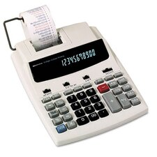Roller Printing Calculator, 12-Digit Fluorescent