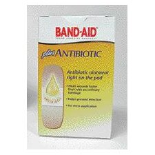 BAND-AID® Plus Antibiotic Bandages (20 Per Box)