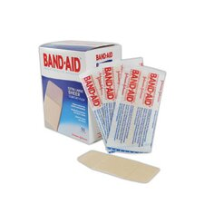 "X 4"" Band-Aid® Brand Extra Large Flexible Fabric Woven Bandage (50 Per Box)"