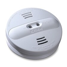Smoke Alarm, Photo/Ion, Dual Sensor, Batt Opr, White