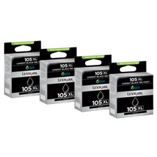 105Xl High-Yield Ink Cartridge, 4/Pack