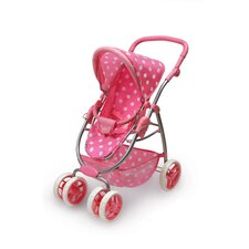 Six Wheel Doll Stroller