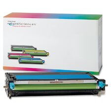 Toner Cartridge, 4,000 Page Yield, Cyan