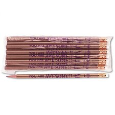 Decorated Wood Pencil, 12/Pack