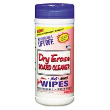 Dry Erase Cleaner Wipe, 30/Canister