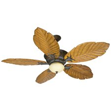 "56"" Pavilion 5 Blade Ceiling Fan with Remote"