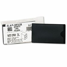 Slap-Stick Magnetic Label Holder, Side Load, 10/Pack