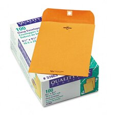 Clasp Envelope,  6 1/2 x 9 1/2, 28lb, Light Brown, 100/box