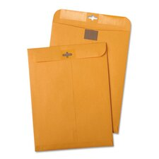 Postage Saving Clasp Kraft Envelope, 6 X 9, 100/Box