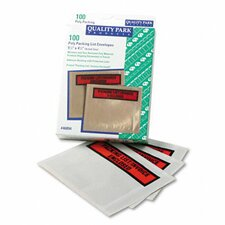 Top-Print Self-Adhesive Packing List Envelope, 100/Box