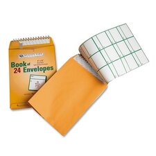 "Envelopes, w/ Redi-strip, 9""x12"", 24 per Pack, Yellow"