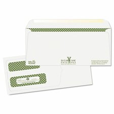 Bagasse Sugar Cane Double Window Business Envelope (Pack of 500)