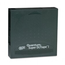 "1/2"" Super DLT Data Cartridge, 1828ft, 110GB Native/220GB Comp Data Capacity"