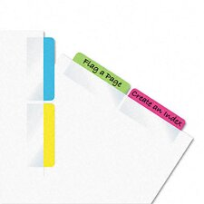 Write-On Self-Stick Index Tab /Flag, 48/Pack