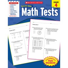 Scholastic Success Math Tests Gr 4