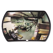 160 Degree Convex Security Mirror, 18' W X 12' H